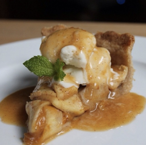 Salted Caramel Apple Pumpkin Pie