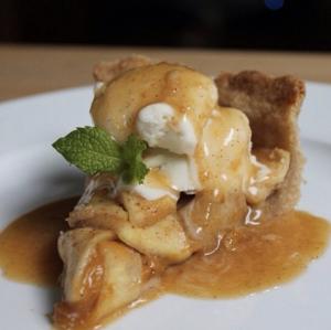 Salted Caramel Apple Pumpkin Pie